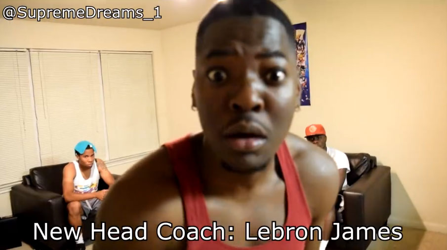 (SKETCH) How LeBron Was After 33 Point Loss in GM2 by SupremeDreams