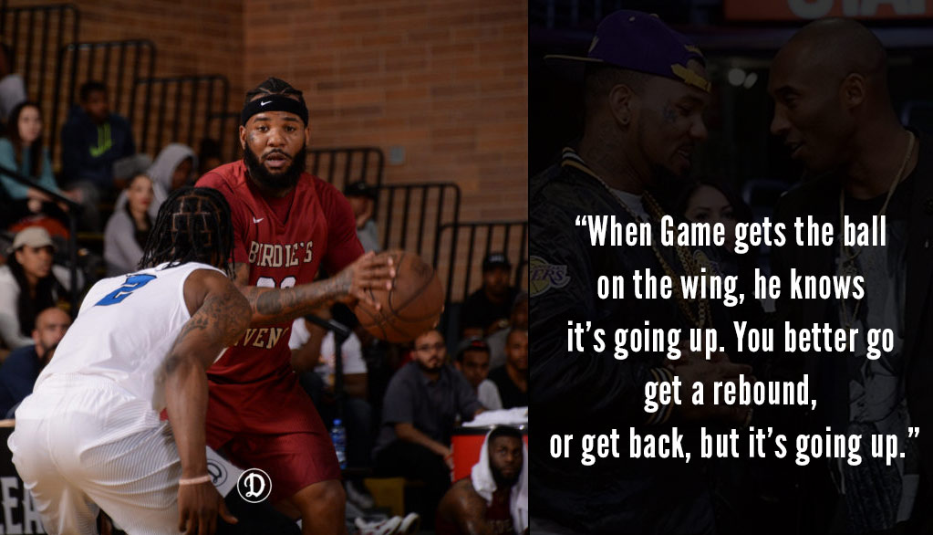 Rapper The Game Returns To The Drew League With A New Team: Birdie's Revenge