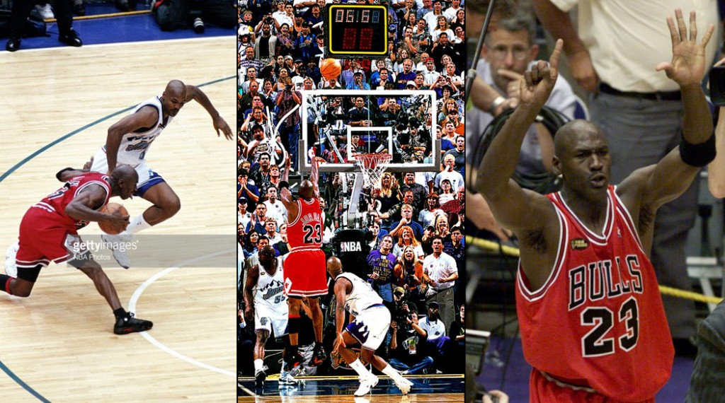 "20 years ago today, Michael Jordan hit ""The Last Shot"" & won his 6th Championship"