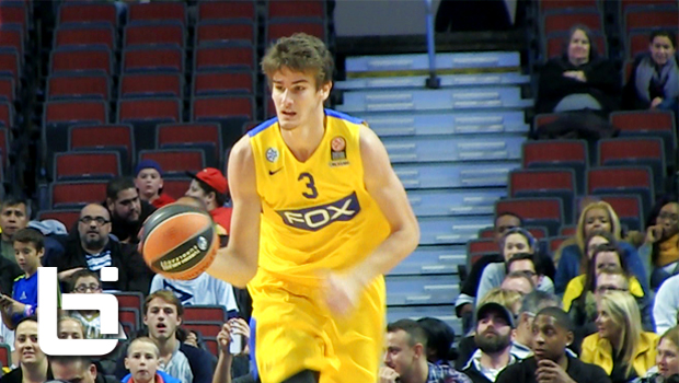 Is 7'1 Croatian Teenager Dragan Bender The Next Porzingis?