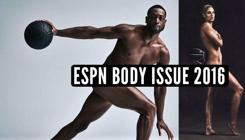 Dwyane Wade & Elena Delle Donne In ESPN Body Magazine 2016
