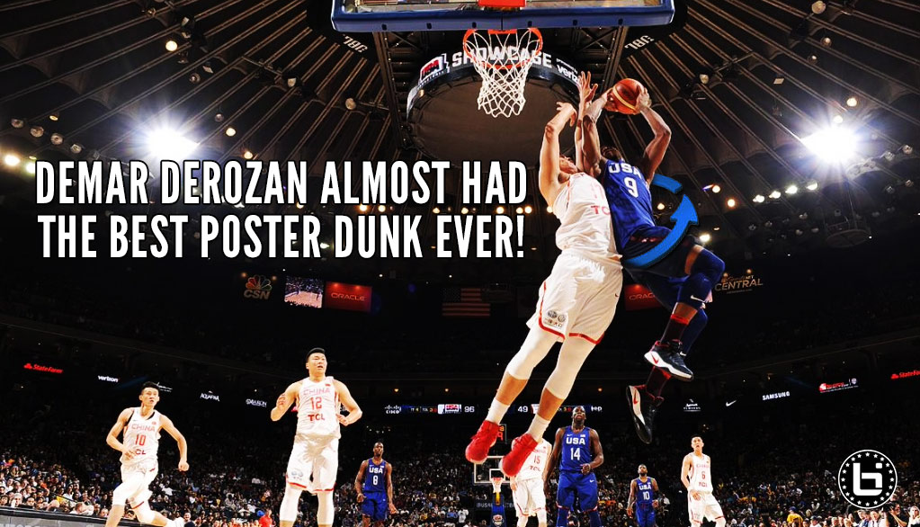 360 Poster Dunk!? DeMar DeRozan Almost Had One Of The Nastiest Dunks Ever
