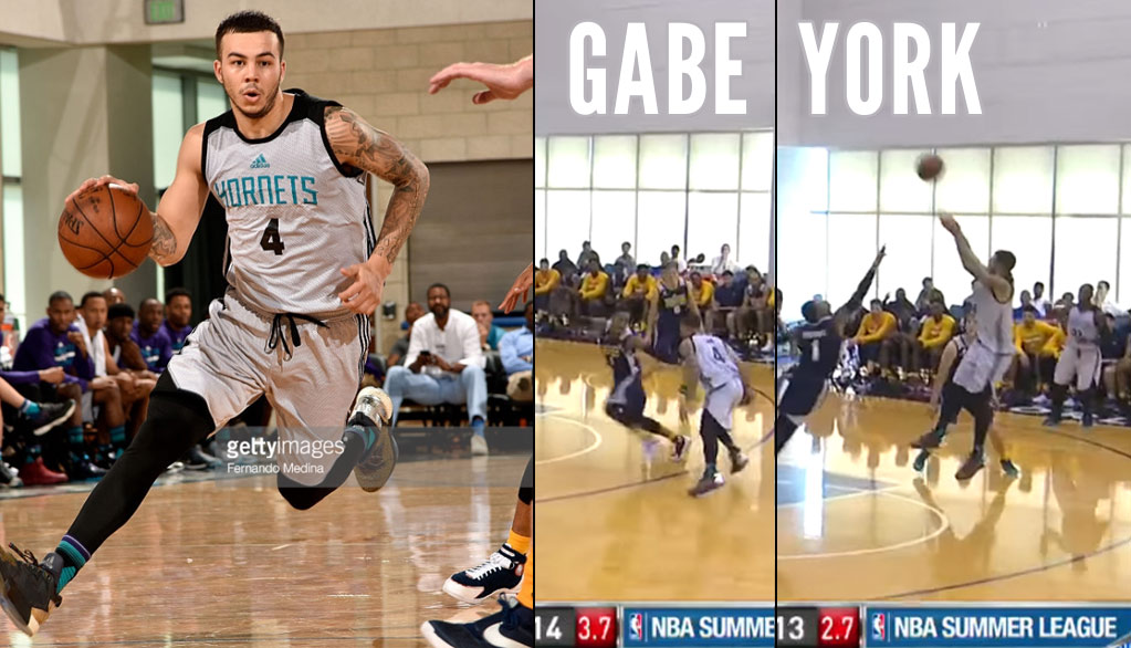 "Gabe York Shows Off His ""Curry-Like Game"" In Summer League Debut"