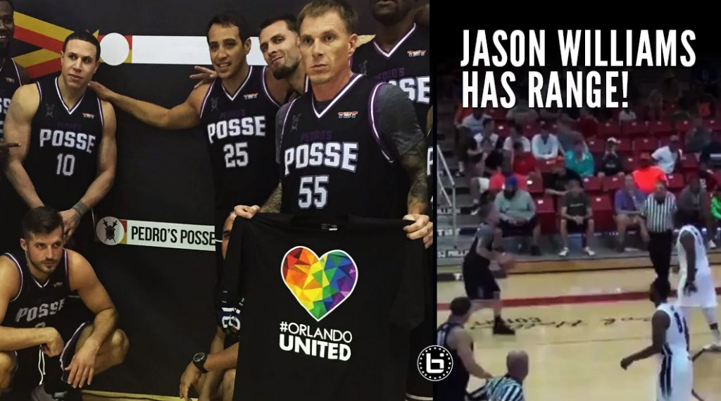 Jason Williams Shows Off His Range, Pedro's Posse Advances To Final 16 in $2 Million Tournament