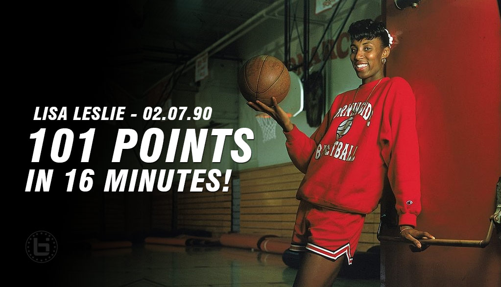 Remembering When Lisa Leslie Scored 101 Points in 16 Minutes During A High School Game