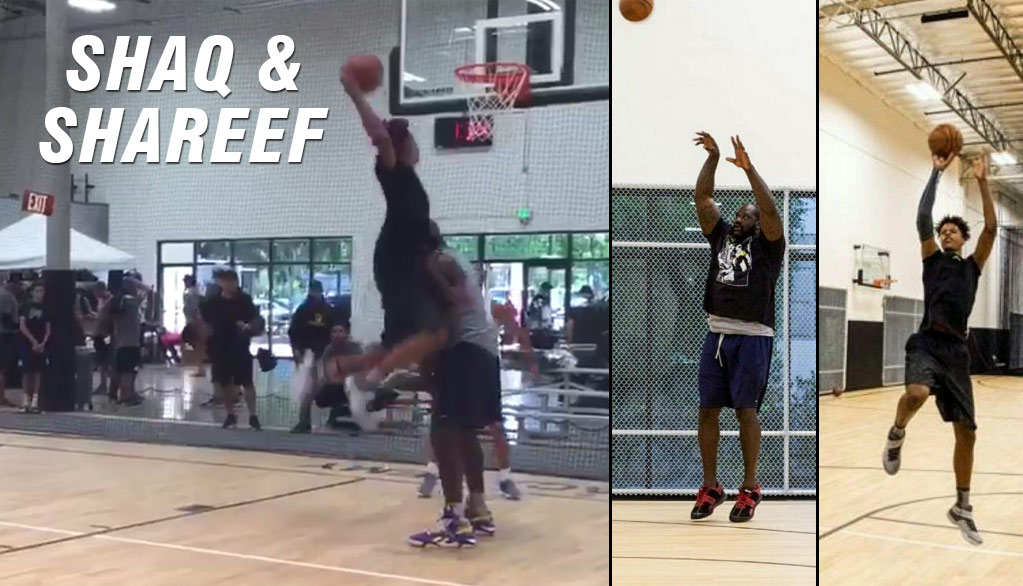 "Shareef O'Neal Got To Do Something Only ""3"" NBA Players Have Done: Dunk On Shaq!"