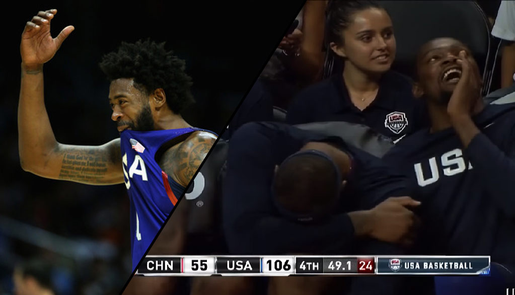 Top 10 Best & Funniest Moments From USA's 106-57 Win Over China