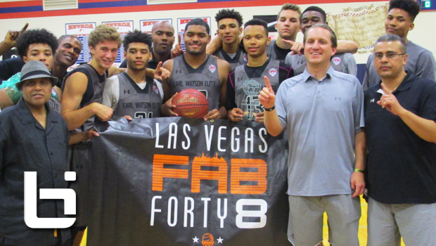 Jemarl Baker leads Earl Watson Elite To Fab 48 Title!