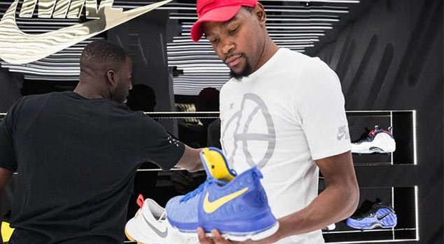 The Bay Welcomes KD with Golden Air