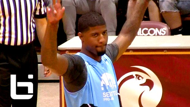 Paul George Scores 40, Throws Down 360 Dunk In His Seattle Pro-Am Debut