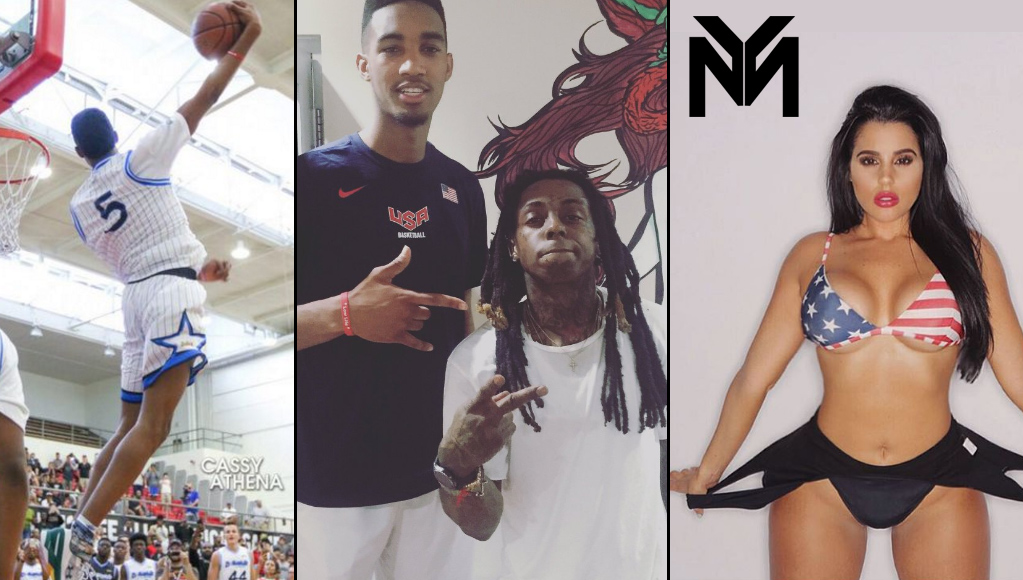 Terrance Ferguson Signs With Lil Wayne's Sports Agency, Took Sexy Stephanie Acevedo To Prom