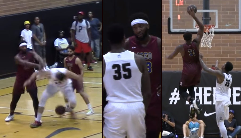 Andre Drummond Was Getting Payback In His Return To The Drew League