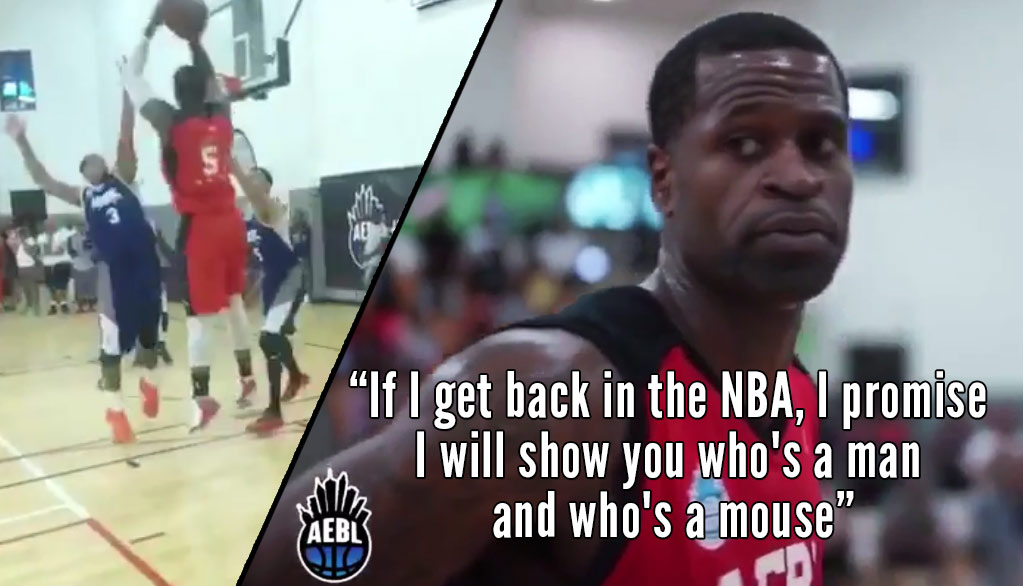 38 Year Old Stephen Jackson Getting Buckets In The Atlanta Pro-Am. Preparing For A NBA Comeback?