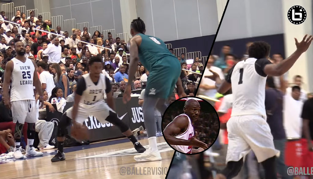 Casper Ware Goes Off For 27 Points (5 Straight 3s) in 3rd Quarter of Drew League Championship