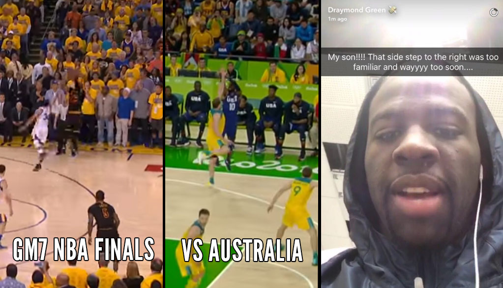 Kyrie Irving's Clutch 3 Against Australia Gave Draymond Green Bad GM7 Finals Flashbacks