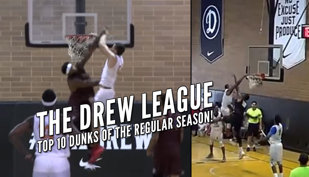 Top 10 Dunks of the 2016 Drew League Regular Season