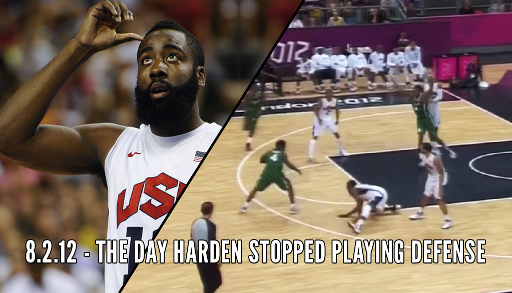 """Remember When James Harden Had His """"Ankles Broken"""" During An 83 Point Victory vs Nigeria"""