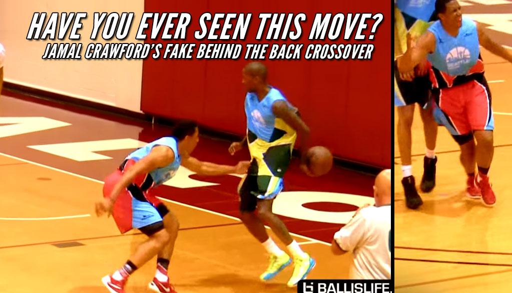 Jamal Crawford Pulls Off A Fake Behind-The-Back Crossover in Seattle Pro-Am Championship Game