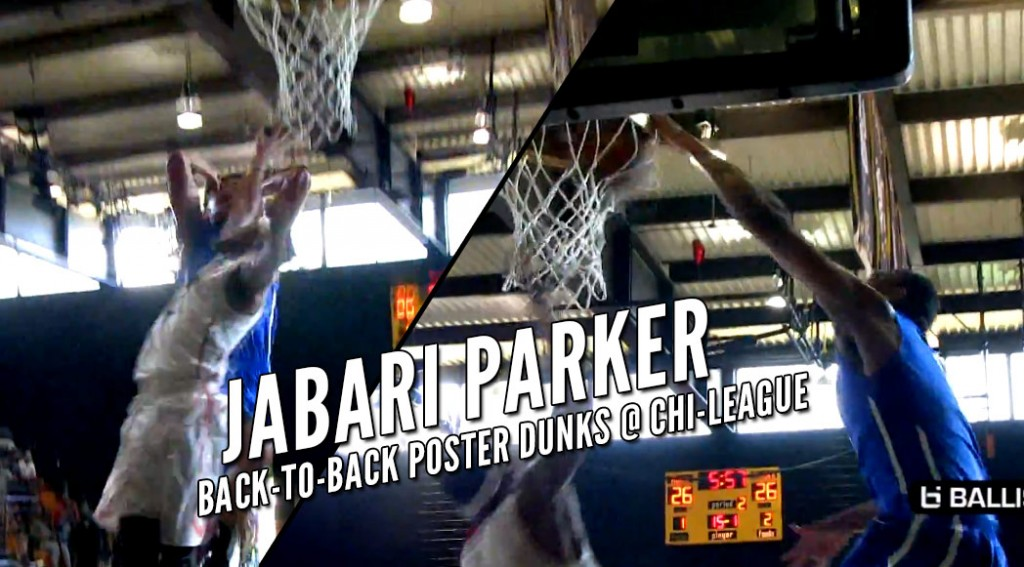 Jabari Parker Dunks On The Same Guy On Back-To-Back Plays At Nike Chi-League