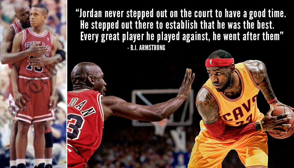 "B.J. Armstrong Advises LeBron Not To ""Chase The Ghost"" Of Michael Jordan But To Get Rid Of The Comparisons"