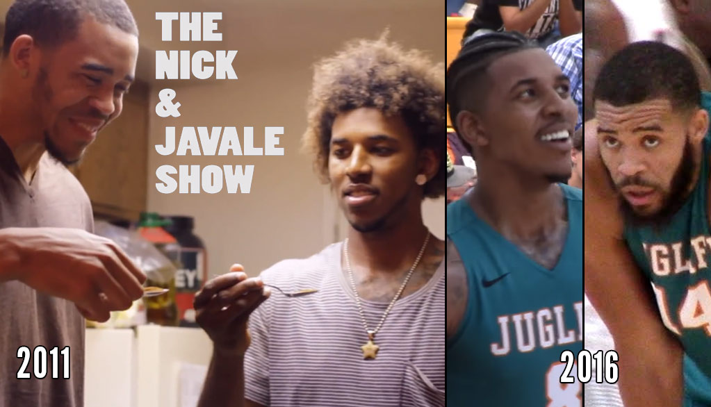 Nick Young & JaVale McGee Reunite & Dominate In The Drew League Playoffs