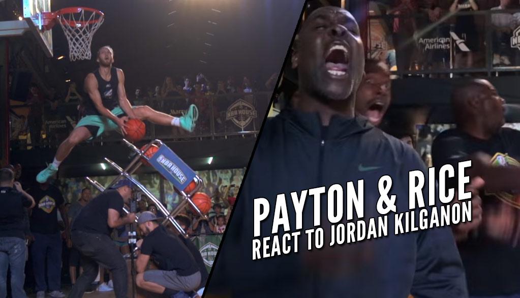 "NBA Legends React To Jordan Kilganon's Latest ""Never Before Seen Dunk"""