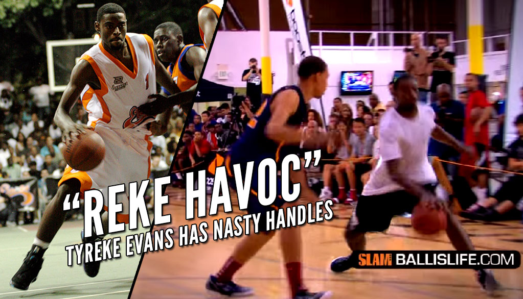 Tyreke Evans Toys With The Nation's Top High School Players At 2011 Elite 24 Midnight Run