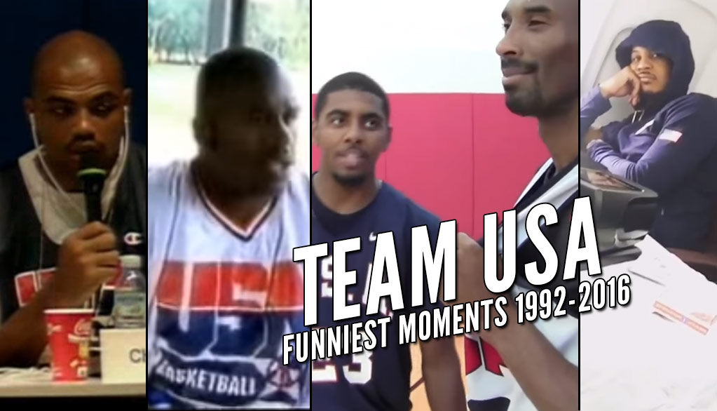 Funniest Team USA Moments (1992-2016)
