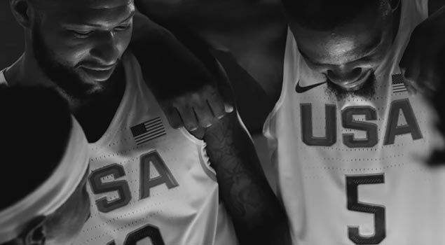 Chance the Rapper Celebrates USA Basketball with Nike