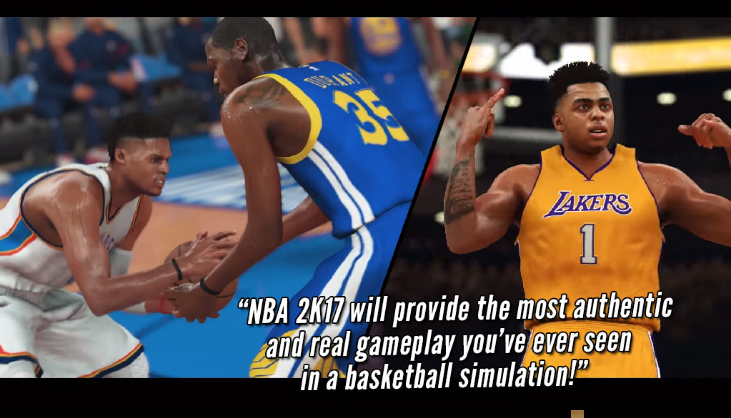 "NBA2k17 New Trailer #Friction ""Most Real Gameplay Ever?"""