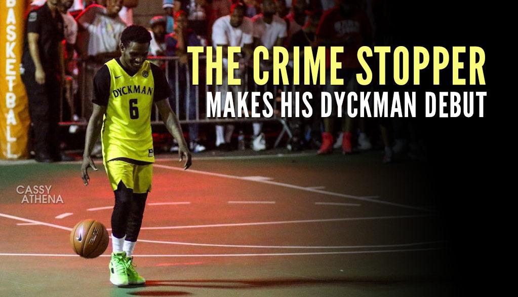 Baltimore Hoop Legend Aquille Carr Puts On A Show At Dyckman Park