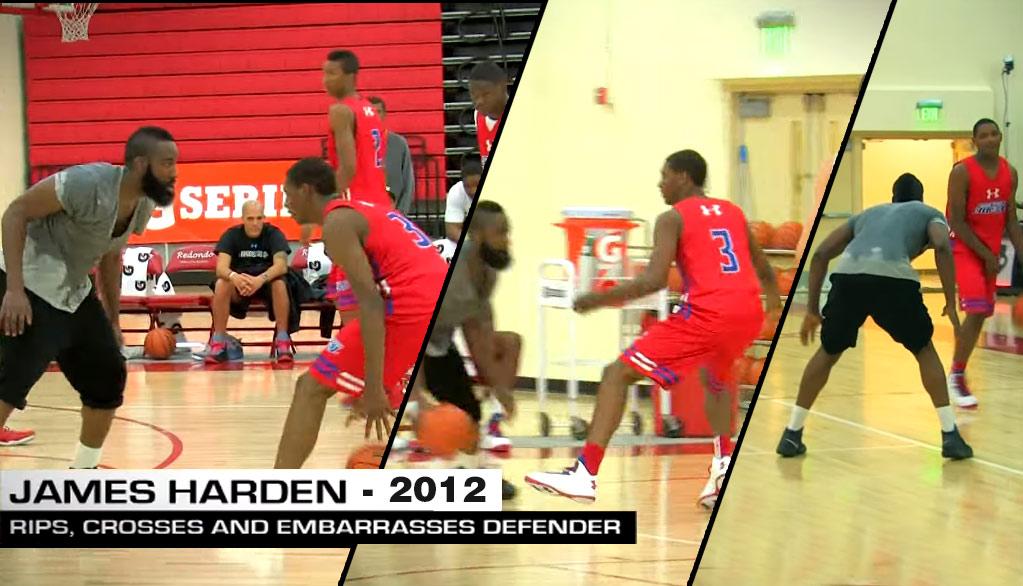 Watch James Harden Break Ankles & Play Shut Down Defense vs Elite 24 All-Stars