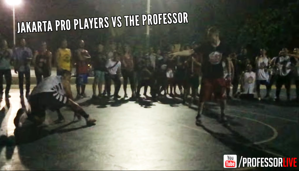 The Professor Destroys Indonesian Pro Players, One By One, After Being Challenged