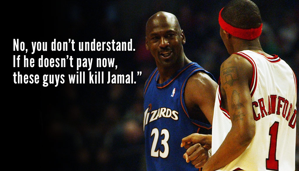 Jamal Crawford Once Had His Life Threatened Over A Gambling Debt At MJ's Restaurant