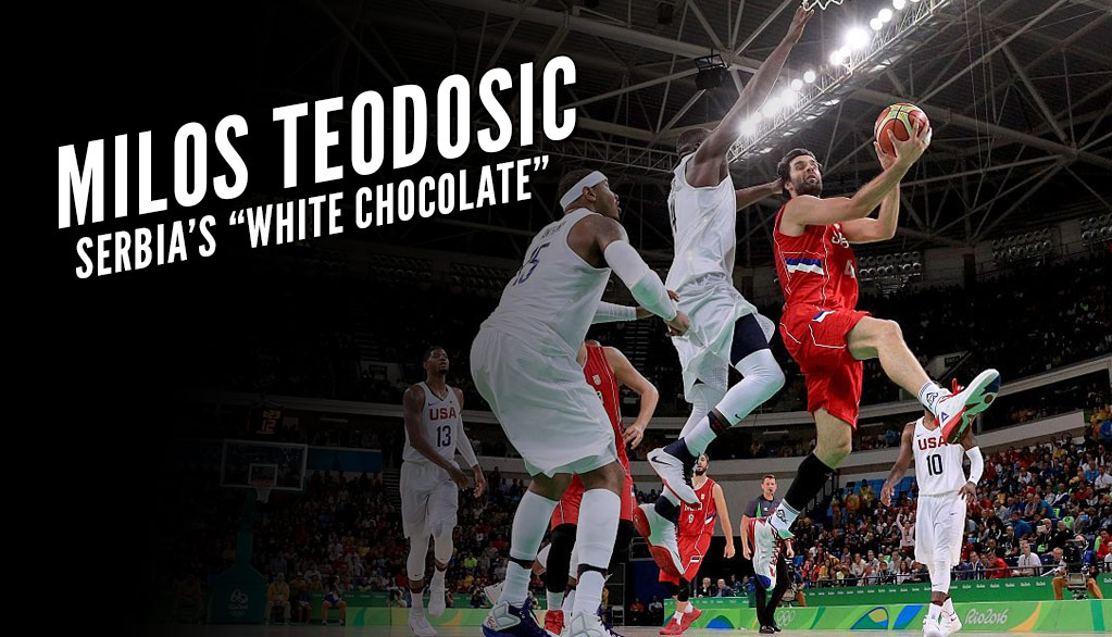 Milos Teodosic Almost Had The Assist of The Year vs Team USA