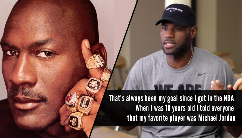 "LeBron James Explains ""Chasing The Ghost"" of Michael Jordan Comment"
