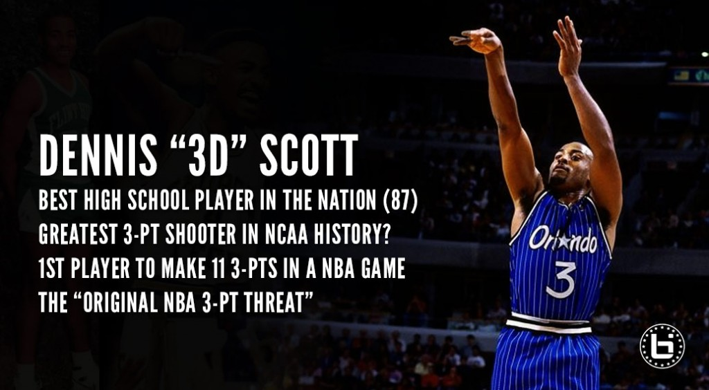 Dennis Scott – One Of The Greatest Shooters Ever