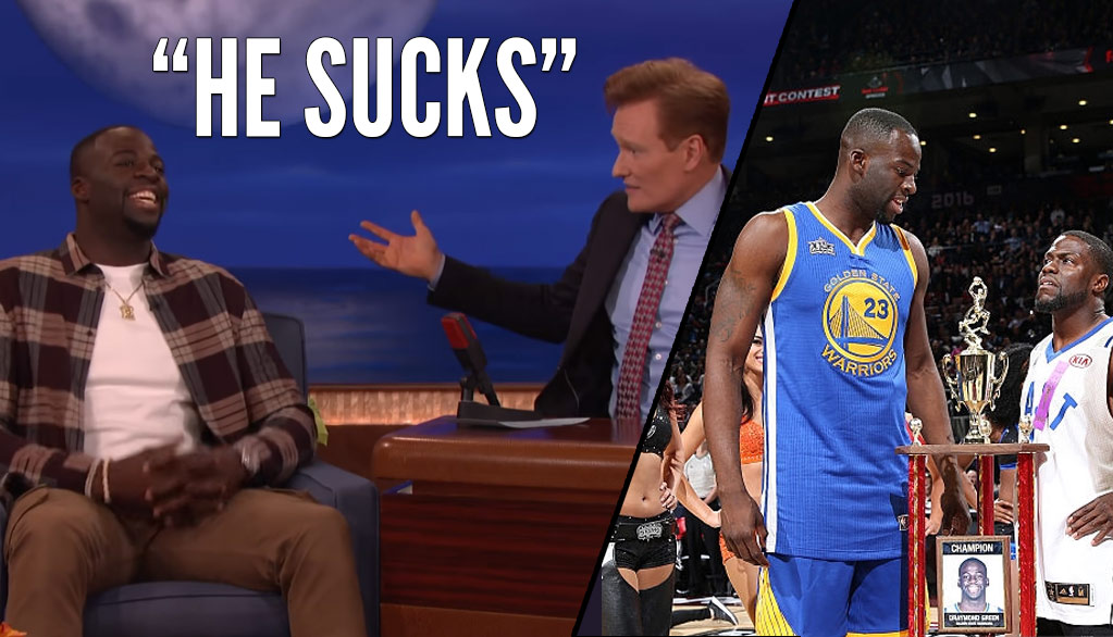 Draymond Green Says Kevin Hart Sucks & Doesn't Have A Good 3-Point Shot