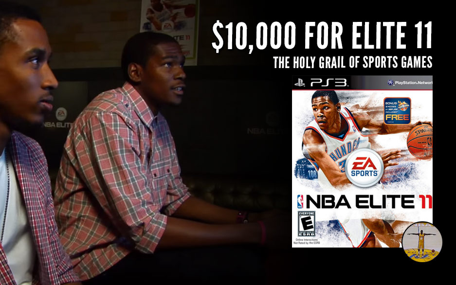 Authentic Copy of NBA Elite 11 Surfaces With A $10,000 Price Tag