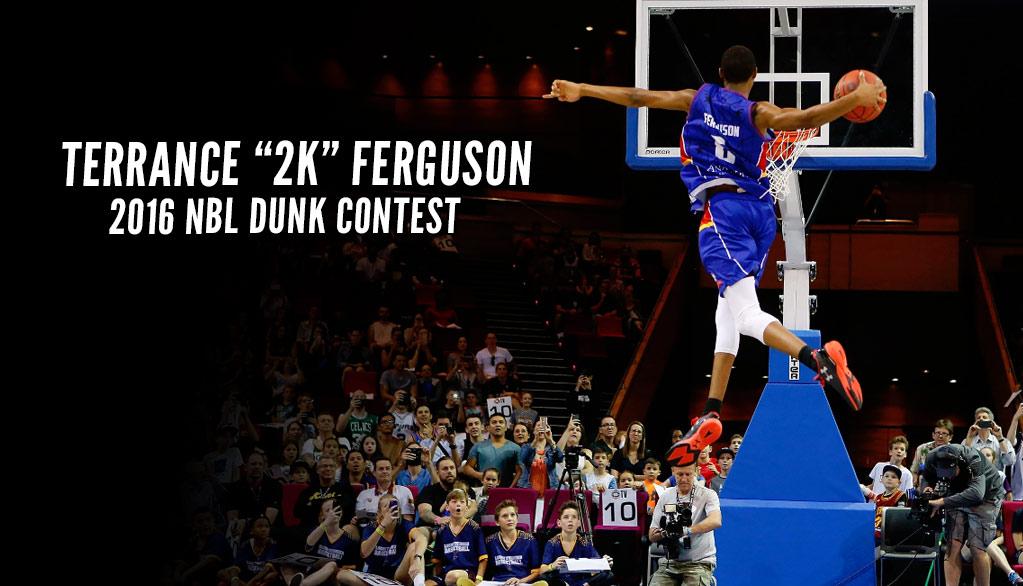 """Terrance """"2K"""" Ferguson Takes Flight In Australian Dunk Contest"""