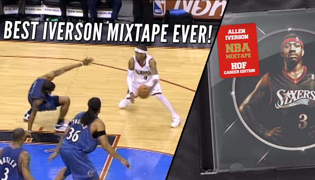 The NBA Releases The Best Allen Iverson Mixtape Ever