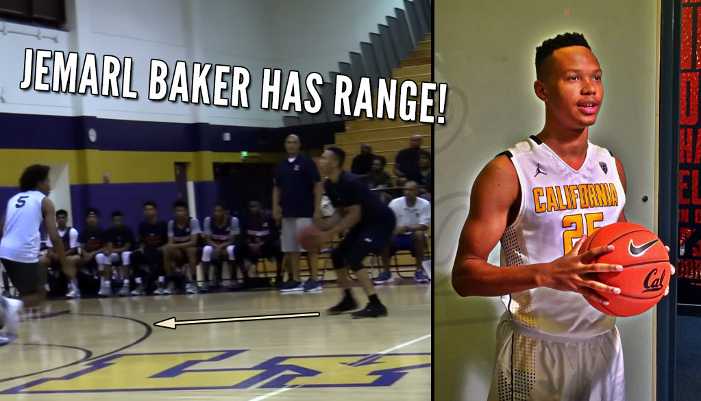 Cal Commit Jemarl Baker Is Deadly From Deep!