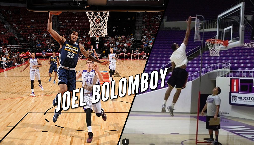 Jazz 2nd Round Pick Joel Bolomboy Shows Off His Impressive Hops
