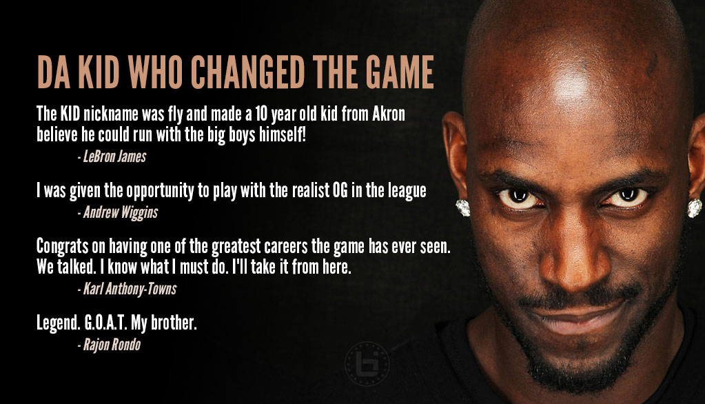 NBA Players React To Kevin Garnett's Retirement