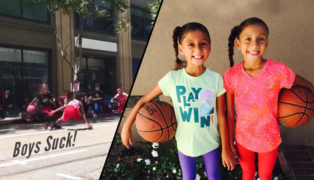 Meet The Splash Sisters: The Adorable Duo Are Already Breaking Little Boys Hearts & Ankles