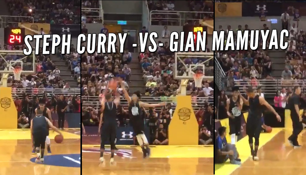 Steph Curry Has Game-Winning 3 Blocked By HS Kid In Taiwan, Then Asked For A Do-Over
