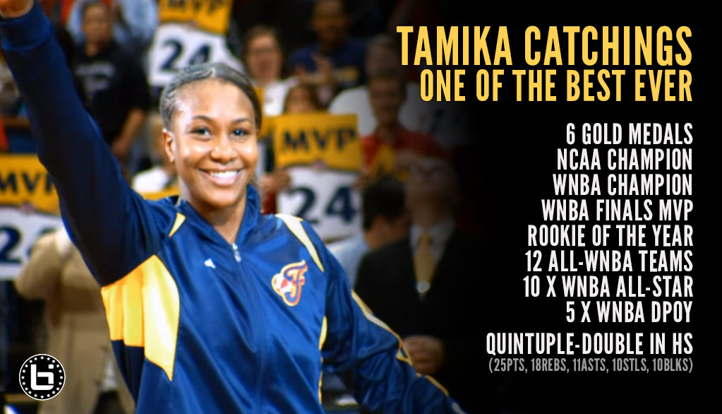 Tamika Catching's Farewell Tour Ends