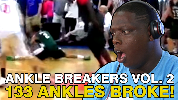 Ankle Breakers Vol. 2, Sit Yo A$$ Down!! Reacted to by Cheez