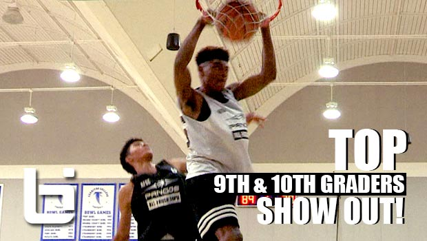 TOP 9th & 10th Graders Show OUT at Pangos All Frosh/Soph West | Official Mixtape!