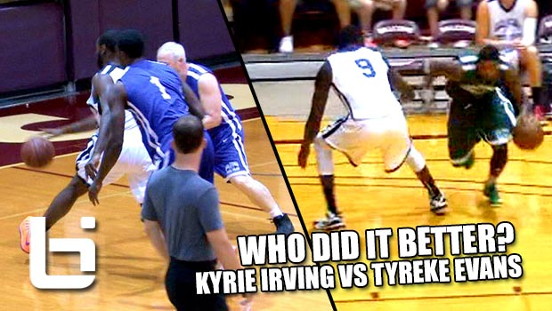 Kyrie Irving vs Tyreke Evans Shamgod Crossovers | Who Did It Better?